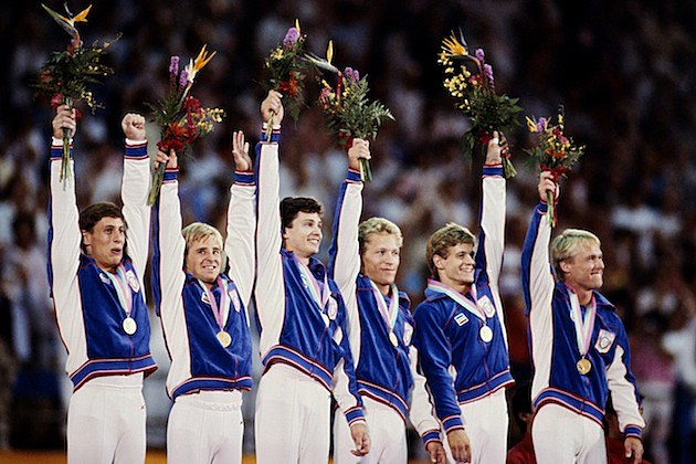 1984 US Mens Gymnastics