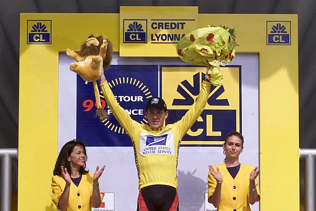 Lance Armstong 1999 Tour Win