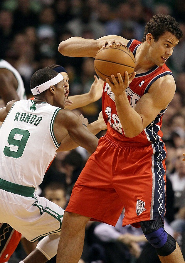 Kris Humphries New Jersey Nets v Boston Celtics