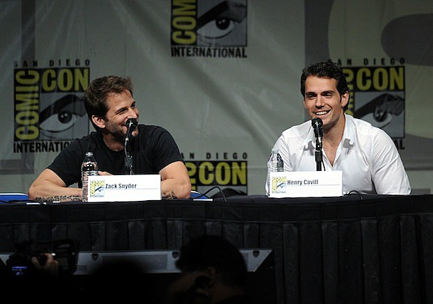 Henry Cavill at Comic Con 2012