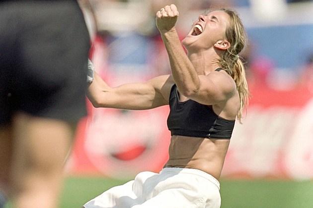 Brandi Chastain Goal