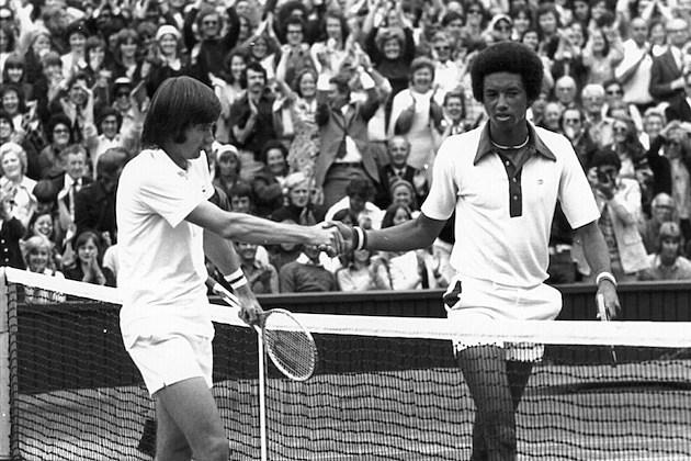 Ashe Wins 1975