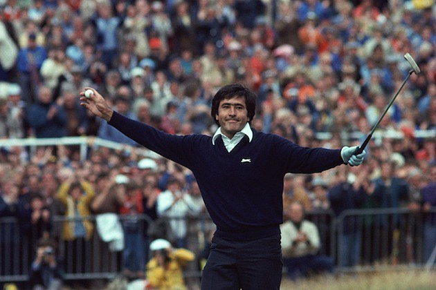 Seve Ballesteros won the British Open