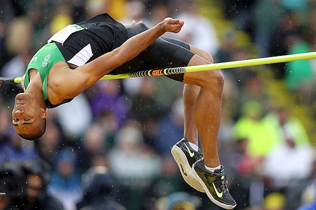 Ashton Eaton High Jump