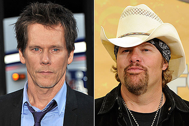 Kevin Bacon, Toby Keith