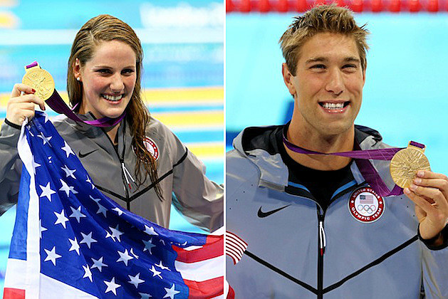 Missy Franklin - Matt Grevers