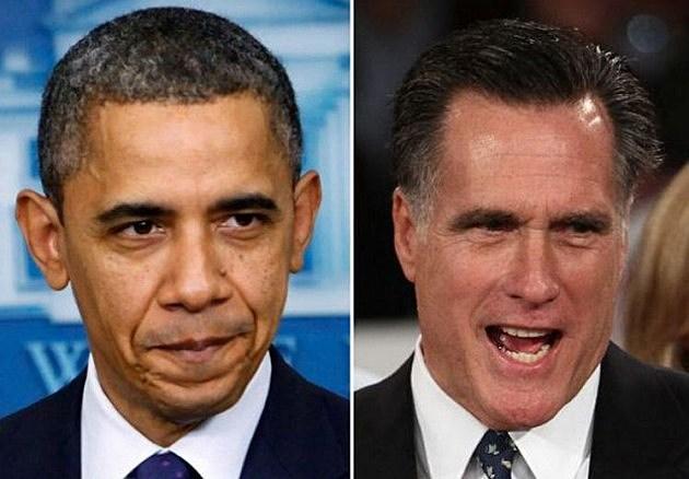 Mitt-Romney Barack Obama