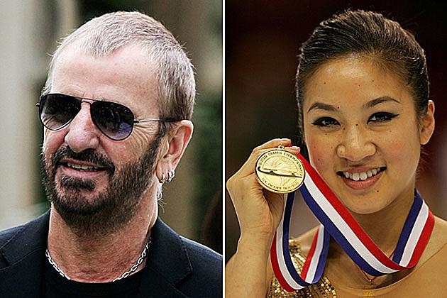 Ringo Starr, Michelle Kwan