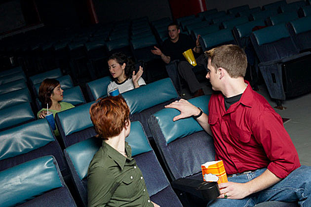 Talking in Theater