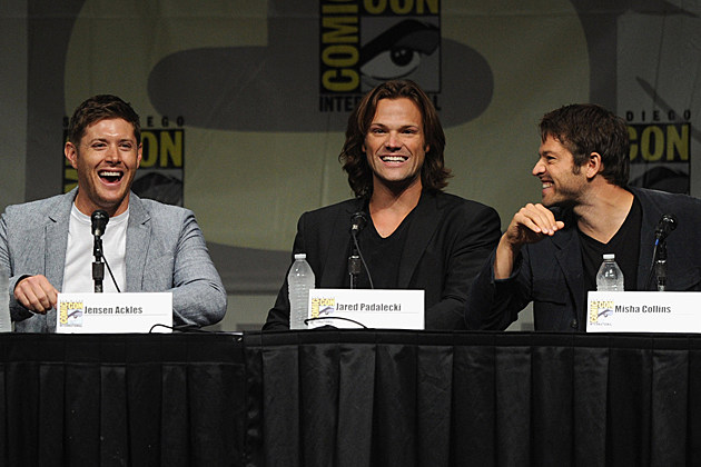Comic Con 2012 Supernatural Panel