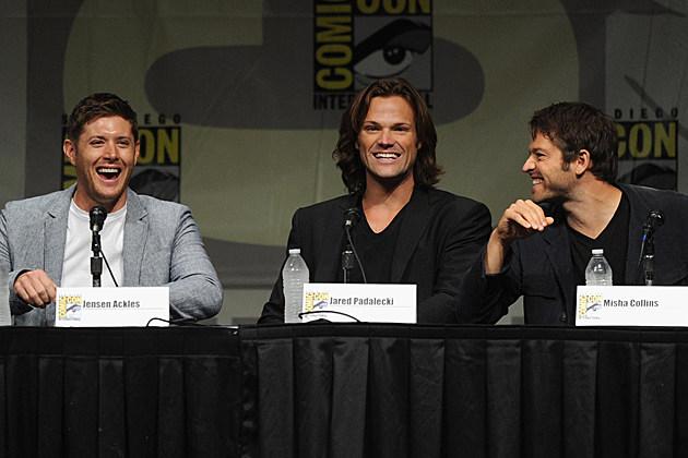 Comic Con 2012 Supernatural Panel