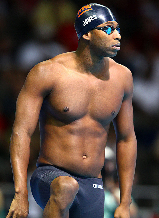 Cullen Jones shirtless