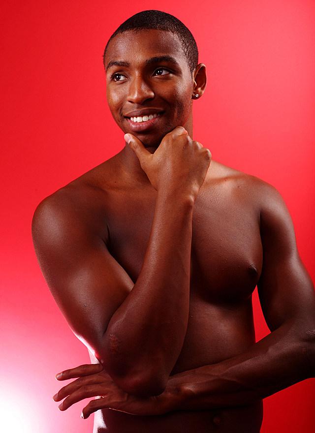 Cullen Jones shirtless