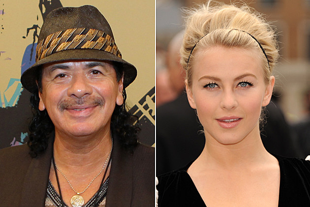 Carlos Santana, Julianne Hough