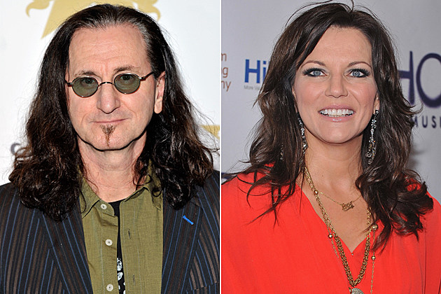 Geddy Lee, Martina McBride