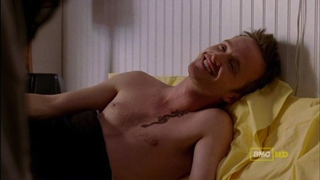 Jesse Pinkman Shirtless