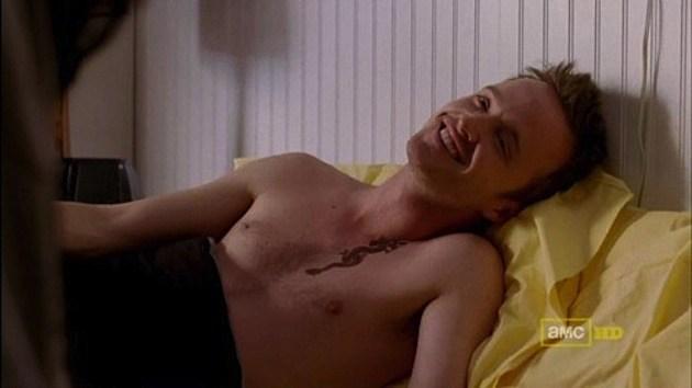 Jesse Pinkman Shirtless
