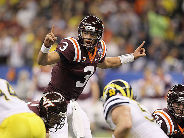 Virginia Tech's Logan Thomas could be poised for a breakout year.