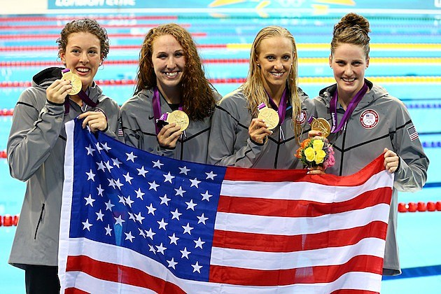 US womens 4x200 team