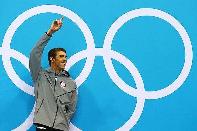Michael Phelps 17th Gold