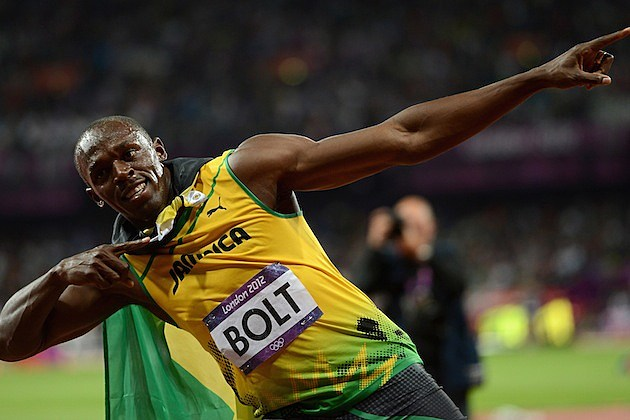 Usain Bolt Gold 2012 London