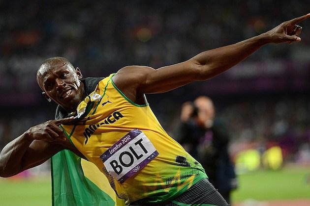 Usain Bolt Gold 2012 London