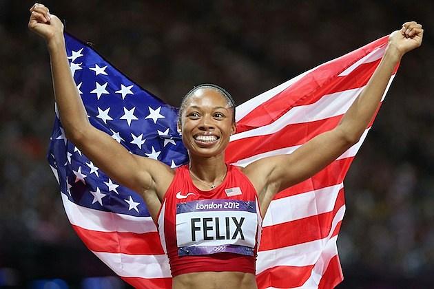 Allyson Felix gold
