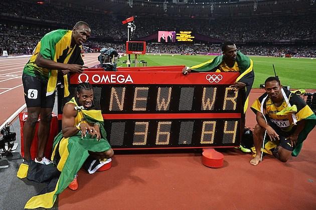 Jamaican Relay Team