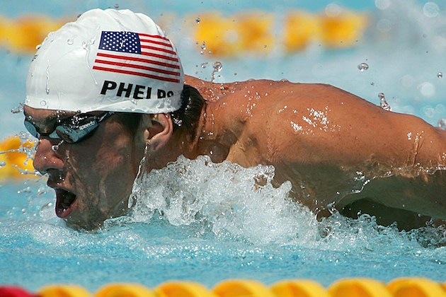 Michael Phelps Athens
