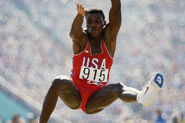 Carl Lewis Long Jump