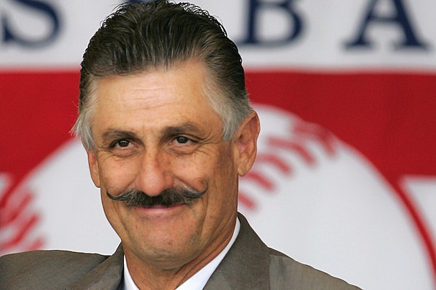 Hall of Famer Rollie Fingers