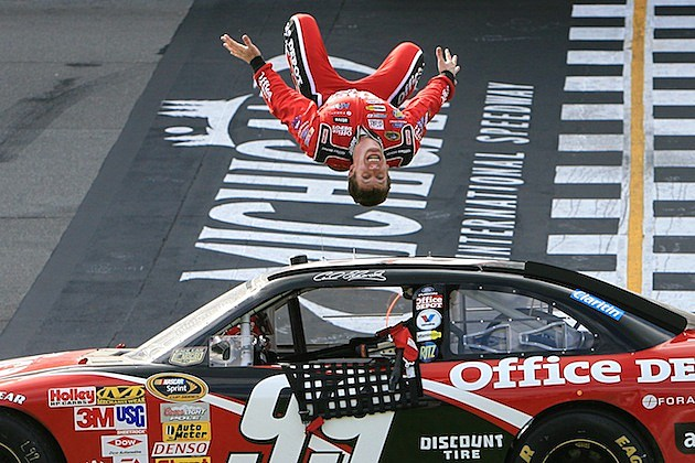 Carl Edwards Flip