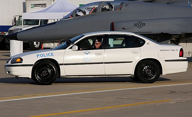 Chevy Impala Police Cruiser