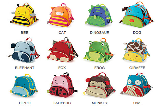 animal backpacks for school