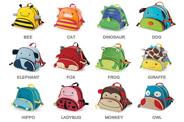 animal backpacks for school
