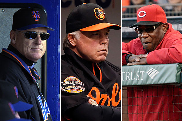 Art Howe, Buck Showalter, Dusty Baker
