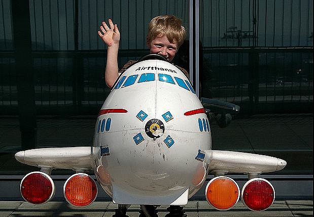 Kid airplane