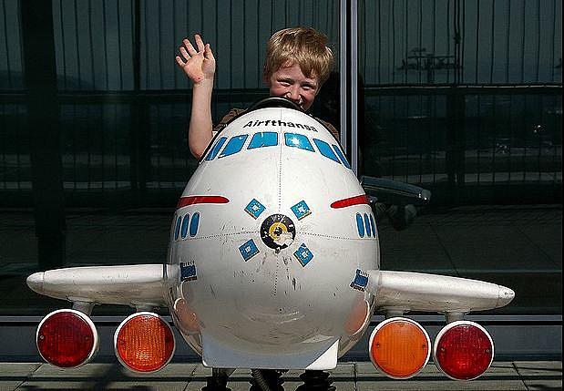 Kid airplane