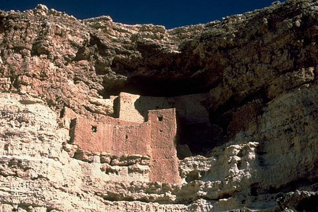 Show your kids that America also has prehistoric sites at Montezumas Castle in Arizona