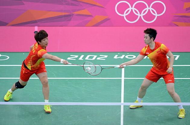 Wang Xiaoli and Yu Yang