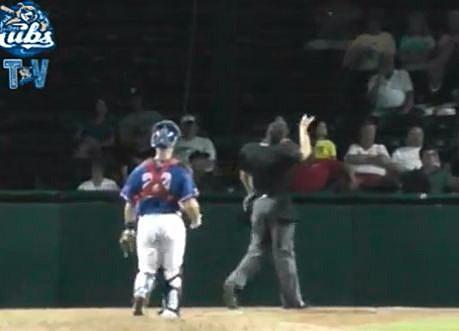 Umpire toss