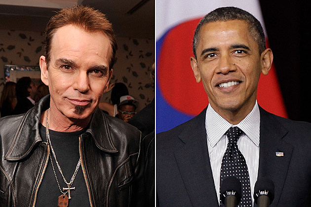 Billy Bob Thornton, President Barack Obama