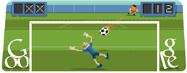 Soccer Google Doodle