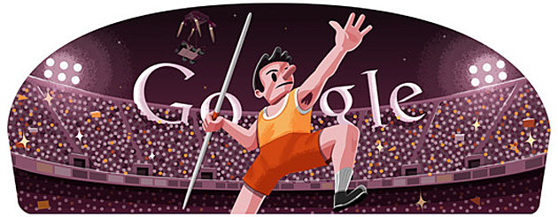 The Javelin Google Doodle