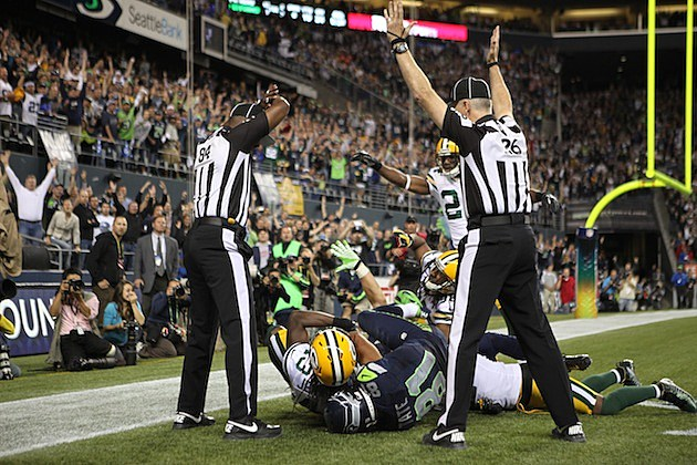 Seahawks Packers Monday Night Touchdown 2