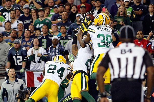 Seahawks Packers Monday Night Touchdown