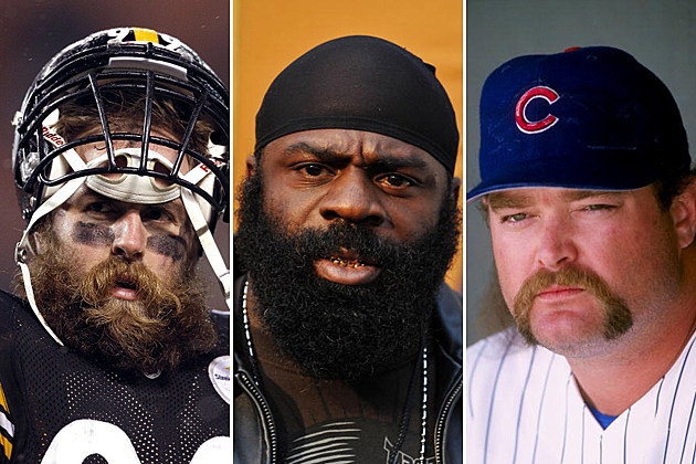 Best Athlete Facial Hair