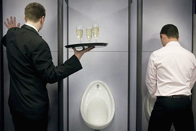 luxurious bathroom treatment
