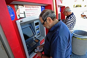 ATM withdraw