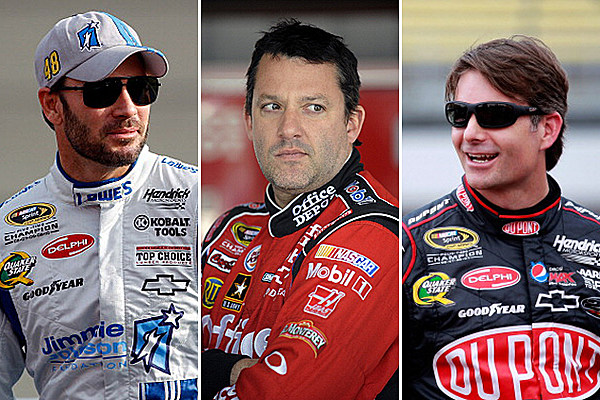 the top 5 winningest active drivers in nascar s sprint cup series tsm interactive. Black Bedroom Furniture Sets. Home Design Ideas